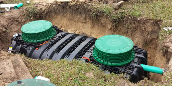 new septic tank spring grove